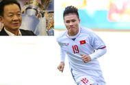 Bầu Hiển chia sẻ quan điểm nếu Quang Hải được đội bóng Anh ngỏ ý