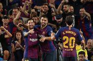 Kết quả cúp C1 ngày 18/9: Liverpool thắng nghẹt thở, Barca đại thắng nhờ Messi