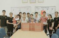 Nhịp cầu Hồng Đức - TocoToco đón Trung thu cùng các trẻ em tại khoa Nhi bệnh viện K Tân Triều