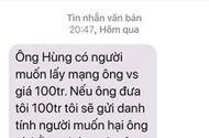 Tin tức - Điều tra vụ Chánh văn phòng Đoàn ĐBQH Hà Nội bị nhắn tin đe dọa, tống tiền