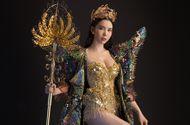 Không phải áo dài, Huỳnh Vy khoe trang phục dân tộc ấn tượng
