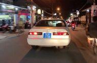 Tin tức - Xe biển xanh 80B hú còi inh ỏi trên đường phố Sài Gòn dùng biển số giả?
