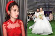 Tin tức - Hình ảnh cô dâu xinh đẹp trong đám cưới siêu khủng chi gần 1 tỷ đồng làm rạp ở Vĩnh Phúc