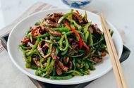 Tin tức - Món ngon mỗi ngày: Biến tấu thịt bò xào ớt chuông lạ mắt