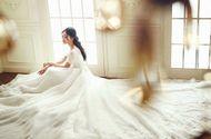 Tin tức - Cận cảnh váy cưới đính 10.000 viên pha lê của Á hậu Thanh Tú