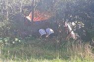 Tin tức - Phát hiện nghi phạm tử vong dưới ao sau khi chém trọng thương hàng xóm