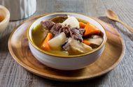 Tin tức - Món ngon mỗi ngày: Thịt bò hầm củ cái trắng bổ dưỡng vào mùa lạnh