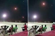Video: Cầu thủ Yemen với trái bóng dưới chân, tên lửa trên đầu