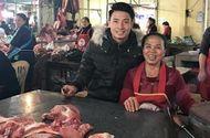 Tin tức - Bùi Tiến Dũng ra chợ bán thịt lợn với mẹ đúng như lời hứa tại Asian Cup