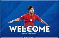 Tin tức - Incheon Utd tiết lộ số áo chính thức của Công Phượng