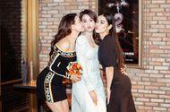 Hà Thu, Trà Ngọc Hằng xúng xính váy áo đến ủng hộ phim mới của Ngọc Trinh