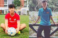 Tiết lộ về 2 chàng cầu thủ điển trai lập công giúp U22 Việt Nam chiến thắng