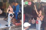 Tin tức - Nữ du khách mặc quần lộ toàn bộ vùng nhạy cảm khiến dân mạng choáng váng