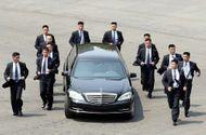 """Tin thế giới - Giải mã """"lá chắn sống"""" 3 lớp bảo vệ nhà lãnh đạo Triều Tiên Kim Jong-un"""