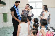 Tin tức giải trí - Nam vương siêu quốc gia cùng Minh Trung, Võ Cảnh đi từ thiện tại Việt Nam