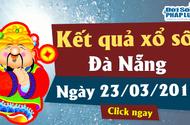 Kết quả xổ số Đà Nẵng ngày 23/3/2019