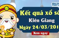 Kết quả xổ số Kiên Giang ngày 24/3/2019