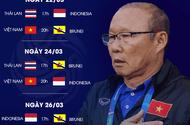 Lịch thi đấu vòng loại U23 châu Á hôm nay 24/3: Việt Nam đấu Indonesia