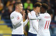 Anh liên tiếp đè bẹp đối thủ tại vòng loại Euro 2020 với tỷ số áp đảo