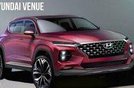 """Cận cảnh mẫu crossover Venue """"nhỏ mà có võ"""" của Hyundai sắp trình làng"""