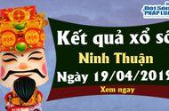 Kinh doanh - Trực tiếp kết quả Xổ số Ninh Thuận thứ 6 ngày 19/4/2019