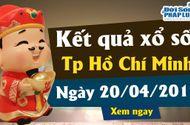 Trực tiếp kết quả Xổ số TP Hồ Chí Minh thứ 7 ngày 20/4/2019