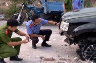 Tin trong nước - Tin tai nạn giao thông mới nhất ngày 18/4/2019: Người tâm thần lái ô tô tông CSGT tử vong