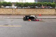 Tin trong nước - Hà Nội: Người phụ nữ chết bí ẩn bên đường cạnh xe máy lúc rạng sáng