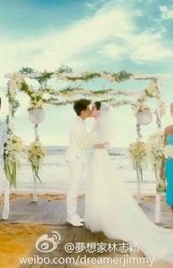 Giải trí - Đám cưới đẹp như mơ của Lâm Chí Dĩnh