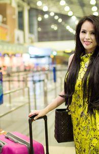 Giải trí - Lại Hương Thảo lên đường thi Miss World