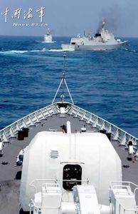 Thế giới - Hạm đội Nam Hải tập trận lớn trên Biển Đông