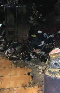 - Hiện trường vụ cháy khiến 3 mẹ con tử vong ở Sài Gòn