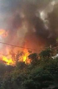 - Hà Nội: Cháy lớn tại quán ca phê cọ gần tòa nhà Lotte