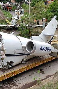 - Hiện trường vụ máy bay Mỹ gãy đôi khi hạ cánh tại Honduras