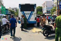TP.HCM: Va chạm với xe buýt, người đàn ông tử vong tại chỗ