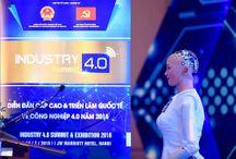 Video: Bài phát biểu về 4.0 của công dân robot đầu tiên Sophia khi tới Việt Nam