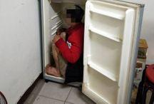 Cảnh sát Đài Loan tìm thấy lao động Việt nấp trong tủ lạnh