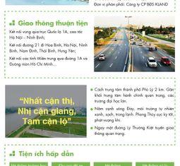 - Kland phân phối độc quyền dự án Khu đô thị Tiến Lộc