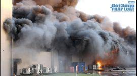 Sự kiên: Vụ cháy lớn tại Khu công nghiệp VSIP Bình Dương