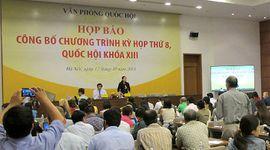Sự kiên: Kỳ họp thứ 8, Quốc hội khóa XIII