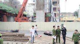 Sự kiên: Tai nạn chết người ở dự án đường sắt trên cao Hà Nội