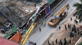Sự kiên: Sập giàn giáo đường sắt trên cao Cát Linh - Hà Đông