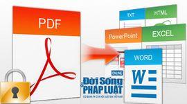 Sự kiện: Cách chuyển đổi file PDF