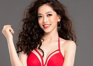 Ngắm đường cong gợi cảm của Á hậu Phương Nga trước giờ trình diễn bikini Miss Grand