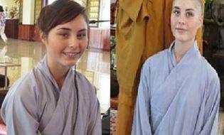 Cộng đồng mạng - Sư cô xinh đẹp 17 tuổi người Mỹ xuất gia tại Việt Nam