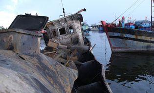 Xã hội - Hiện trường vụ nổ tàu hất nhiều người xuống biển