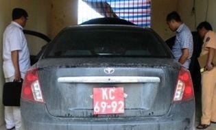 An ninh - Hình sự - Cả gan lắp biển quân đội cho xe ăn trộm để lưu thông