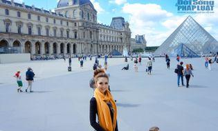 Ngôi Sao - Hoa Hậu Á - Châu Hoa Kỳ Jennifer Chung khoe ảnh dạo chơi Paris