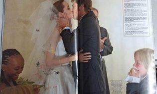 Ngôi Sao - Ngắm Angelina Jolie và Brad Pitt hạnh phúc trong lễ cưới