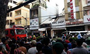 Xã hội - Trực tiếp: Cháy lớn ở trung tâm SG, ít nhất 7 người chết